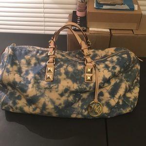 Michael Kors RARE Tie Dye Greyson Weekender Bag!